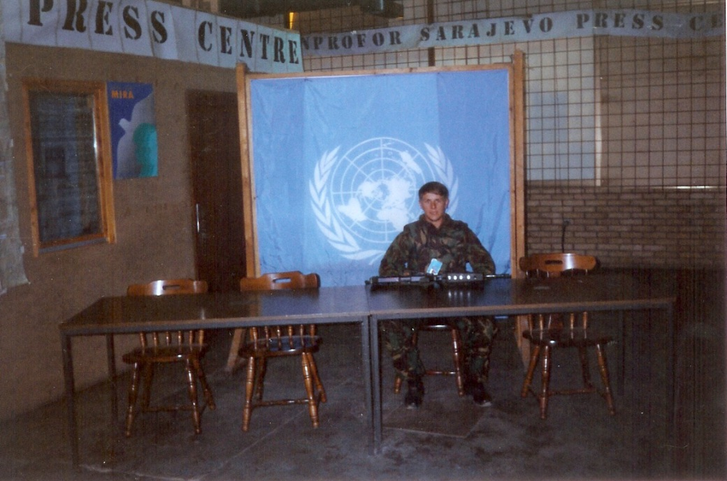 UN Press Centre in Sarajevo