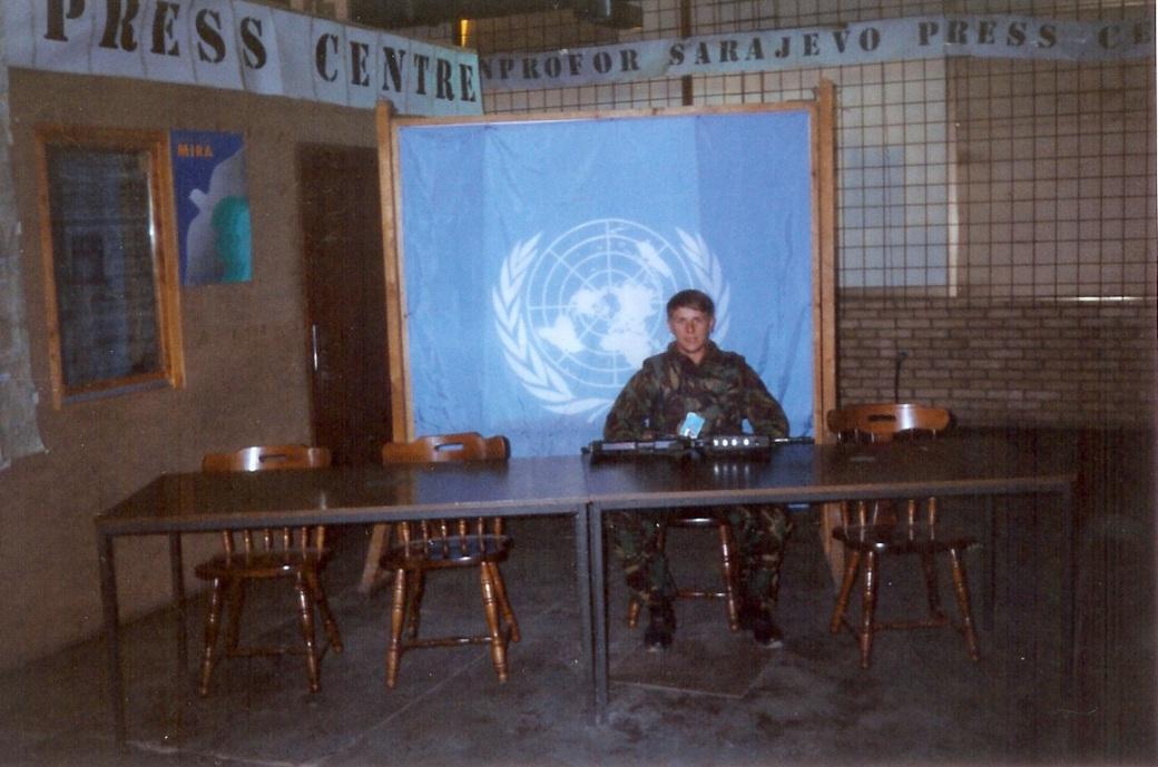 UN Press Centre in Sarajevo