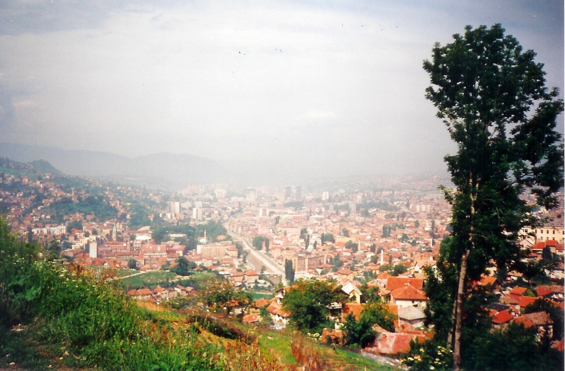 Sarajevo from the Old Fort