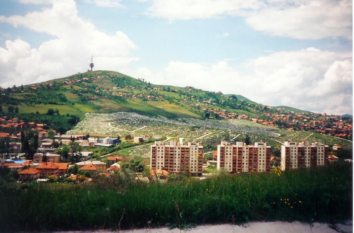 Mass grave in Sarajevo