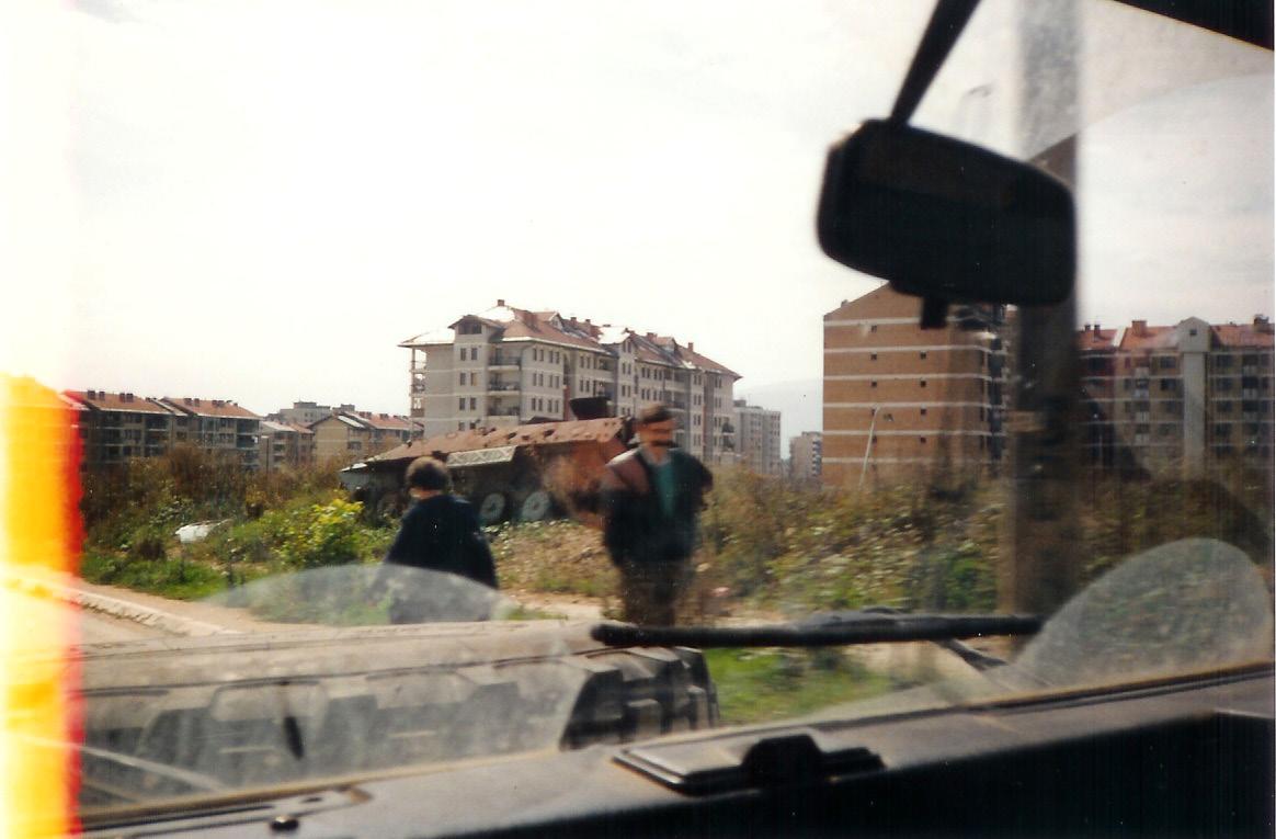 On way to Sarajevo Airport