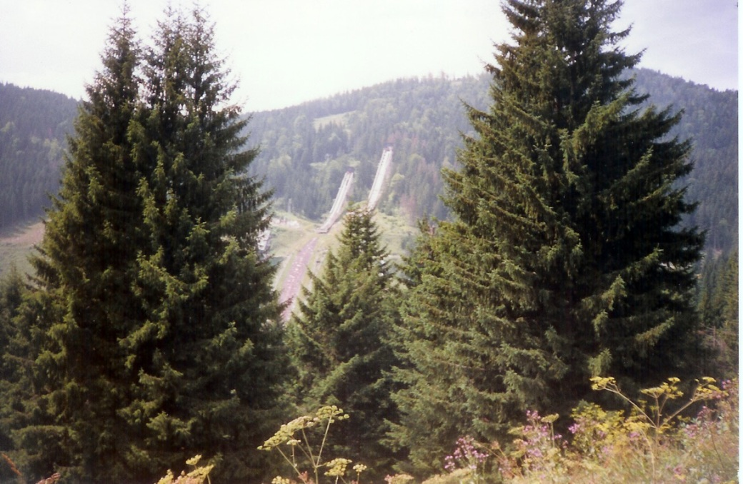 Olympic Ski Jumps on Bjelasnica