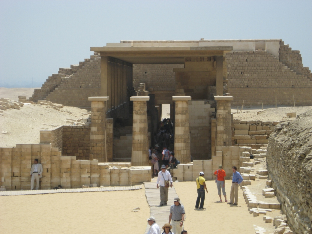 Djoser's Step Pyramid Complex - 4/7/07