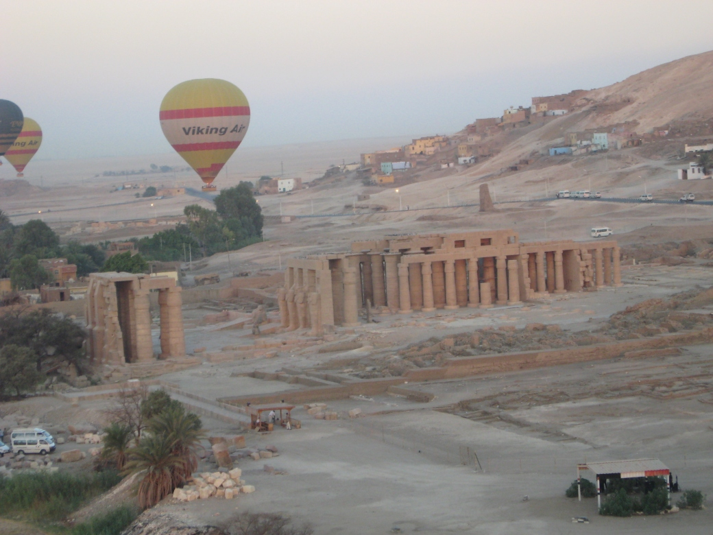 Valley of the Kings (Hot Air Balloon) - 7/7/07