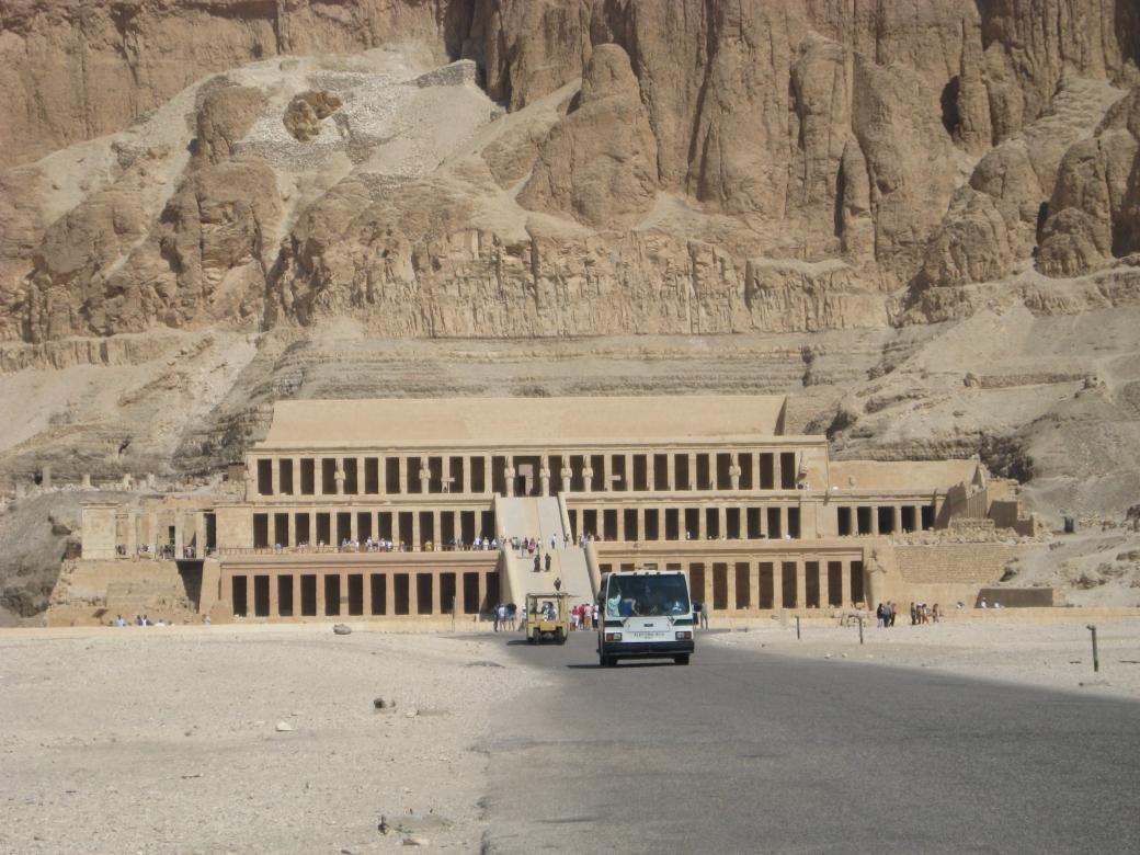 Hatshepsut's Mortuary Temple - 7/7/07